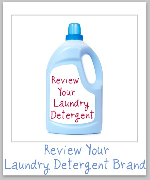 review your laundry detergent brand