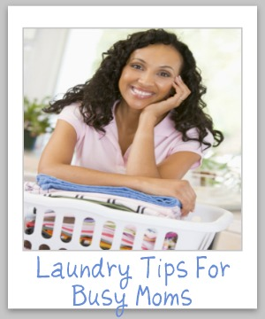 Large round up of laundry tips for busy Moms! {on Stain Removal 101}