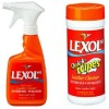 Lexol leather cleaner and wipes