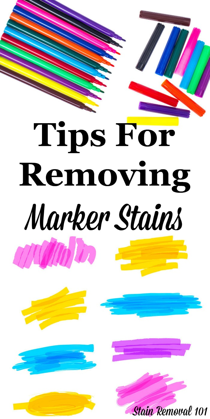 Marker Removal Stain Tips When Your Child Goes Crazy With Markers