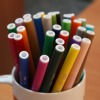 cup of markers