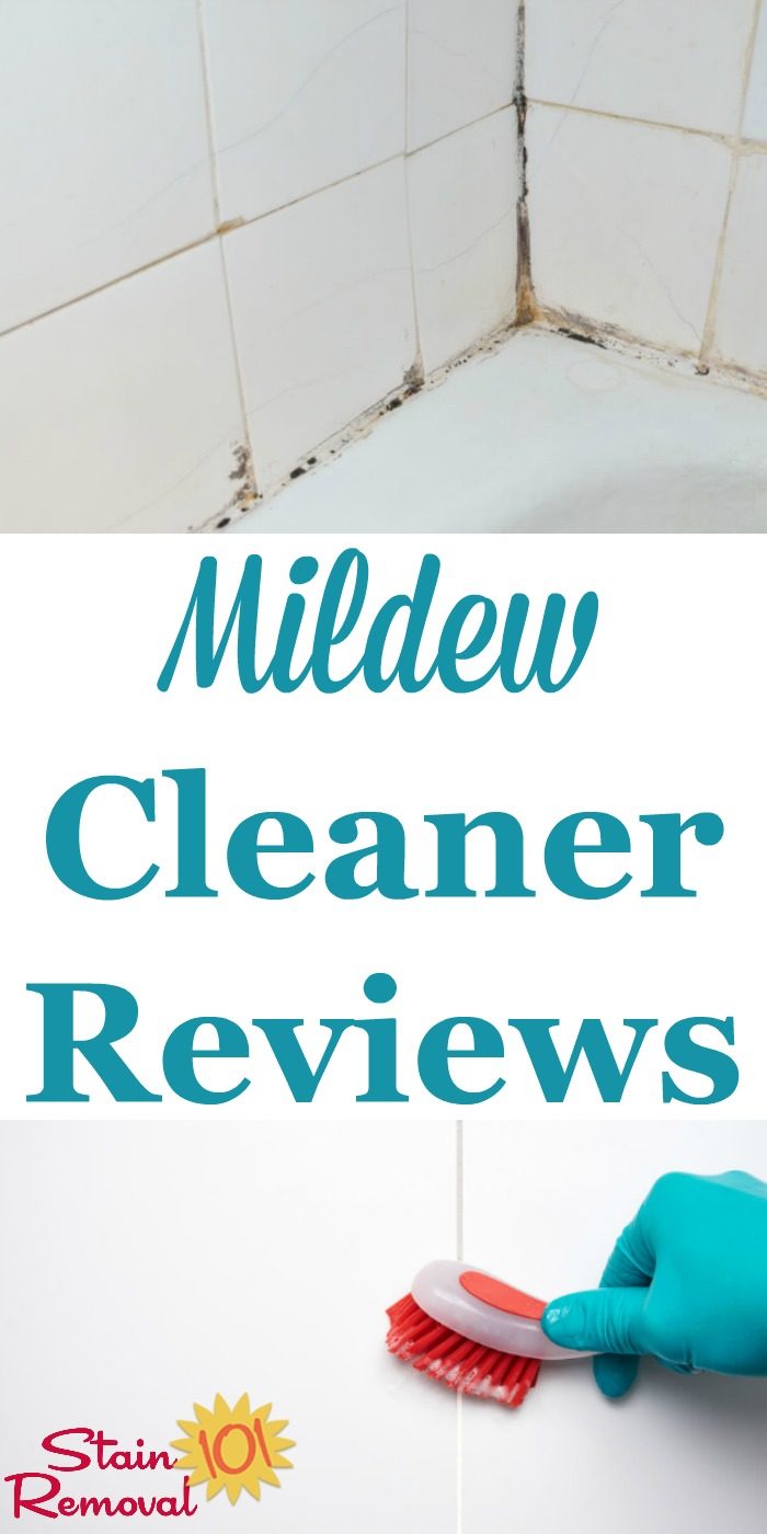 Mildew Cleaners And Mildew Removers Reviews - Best bathroom mildew remover
