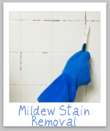remove mildew stains