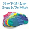 how to not lose socks in the wash