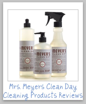mrs meyers clean day cleaning products