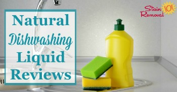 Natural dishwashing liquid reviews
