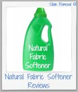natural fabric softener reviews