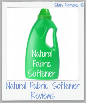 natural fabric softener reviews