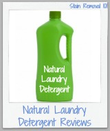 natural laundry detergent reviews