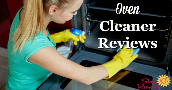 Here is a round up of oven cleaner reviews from several brands to find out which products work best to clean your oven, don't smell to bad and aren't too caustic {on Stain Removal 101}