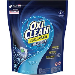 Oxiclean laundry detergent pacs