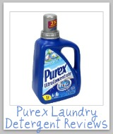 purex laundry detergent reviews
