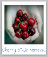 cherry juice stain removal