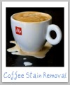 remove coffee stains
