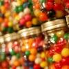 gum balls in jars