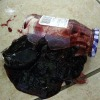 broken jar of jelly