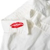 lipstick on clothing