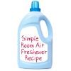 room air freshener recipe