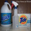 sanitizing with bleach