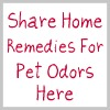 share home remedies for pet odors here