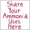 share your ammonia uses here