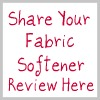 share your fabric softener review here