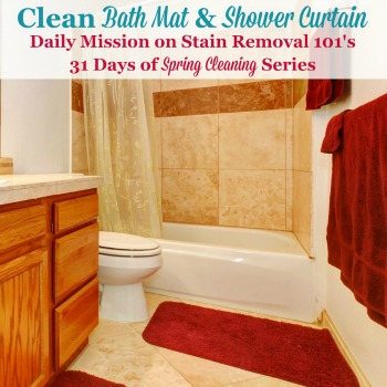 clean bathtub and shower curtains
