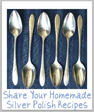 silver polish homemade
