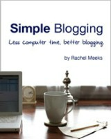 Simple Blogging ebook