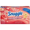 snuggle sweet blossom and pomegranate scent dryer sheets