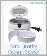sonic jewelry cleaner recipe