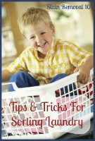 tips and tricks for sorting laundry