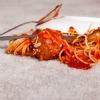 spaghetti sauce stain
