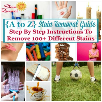 A-Z Stain Removal Guide