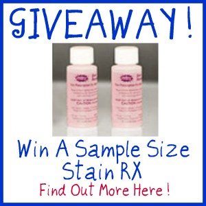 stain rx giveaway