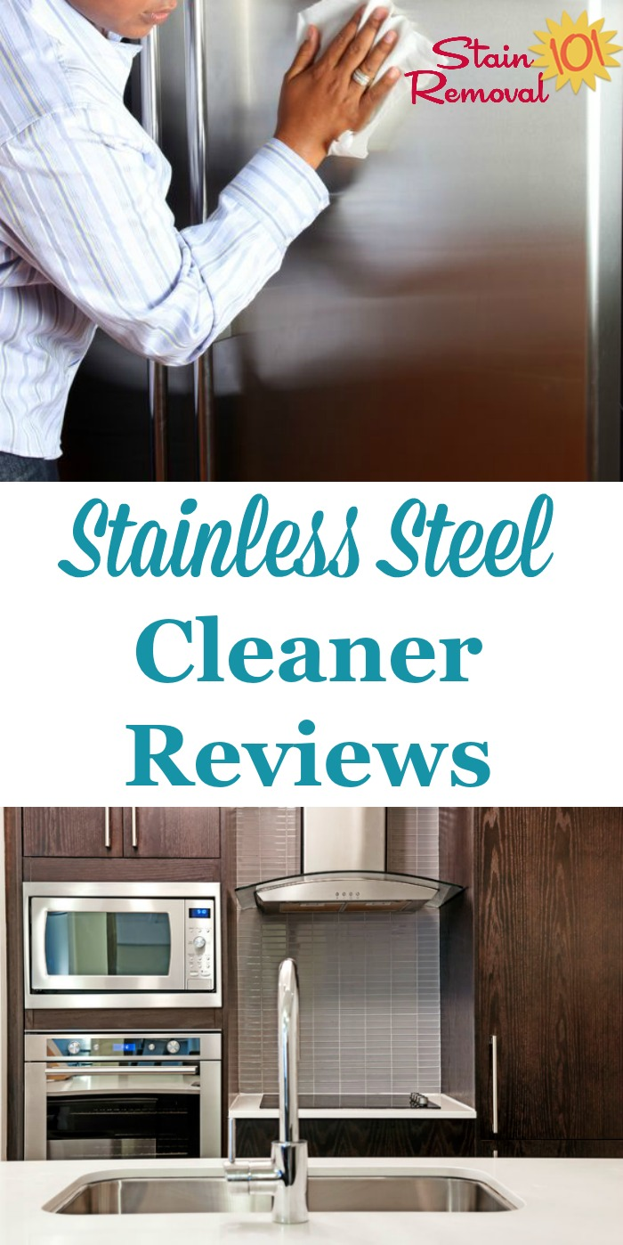 Stainless Steel Cleaners Polishes Reviews Which Products Work Best