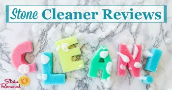Stone cleaner reviews