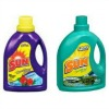 sun laundry detergent, tropical breeze and mountain fresh scents