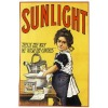 sunlight laundry soap poster