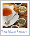 tea stain removal