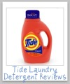 tide detergent reviews