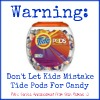 tide pods warning