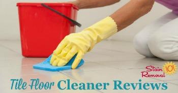 Tile floor cleaner reviews