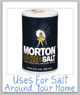 uses for salt