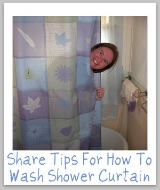 wash shower curtain