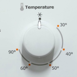 washing machine temperature settings