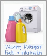 washing detergent facts and information