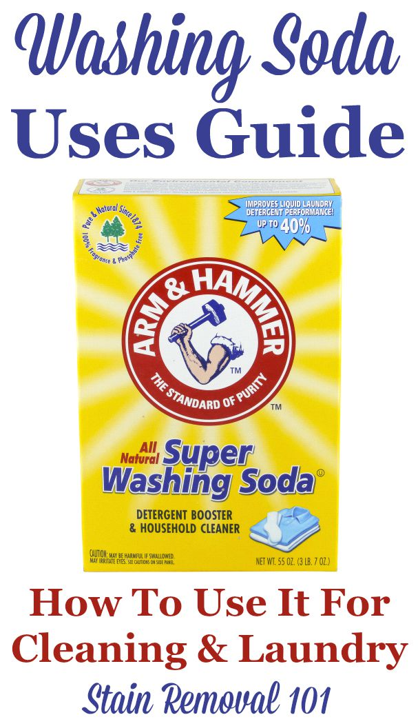 Washing Soda What It Is How To Use It To Clean Home Laundry