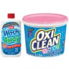Whink Wash Away pretreater and Baby Oxiclean Presoaker