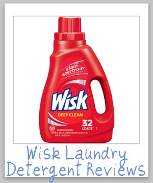 wisk laundry detergent